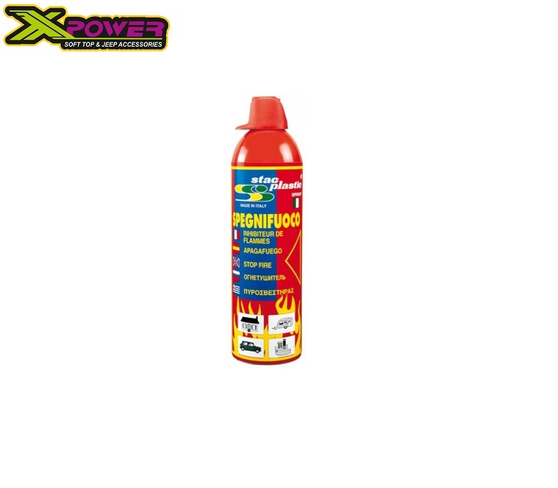 FIRE STOP SPRAY 500g STAC PLASTIC WITH BASE
